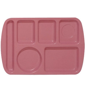 Some people have said they like to eat their meals on a tray which separates everything.