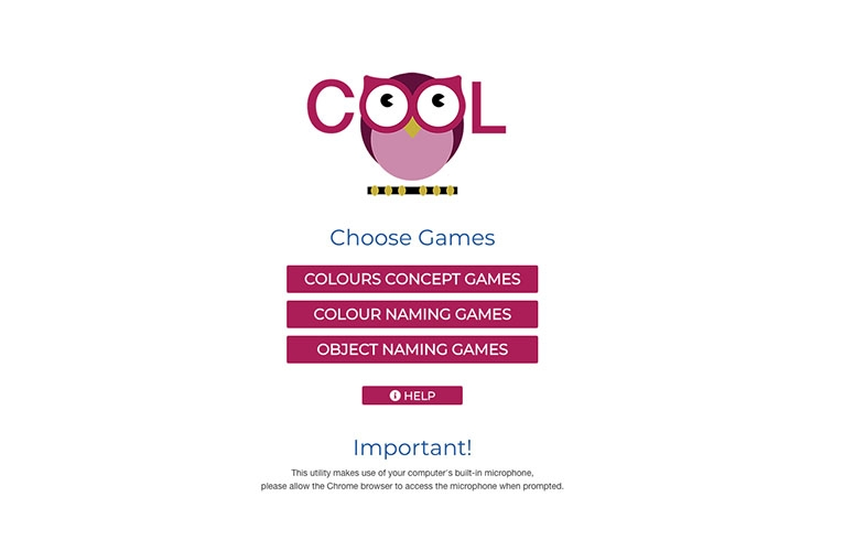 COOL Games homepage
