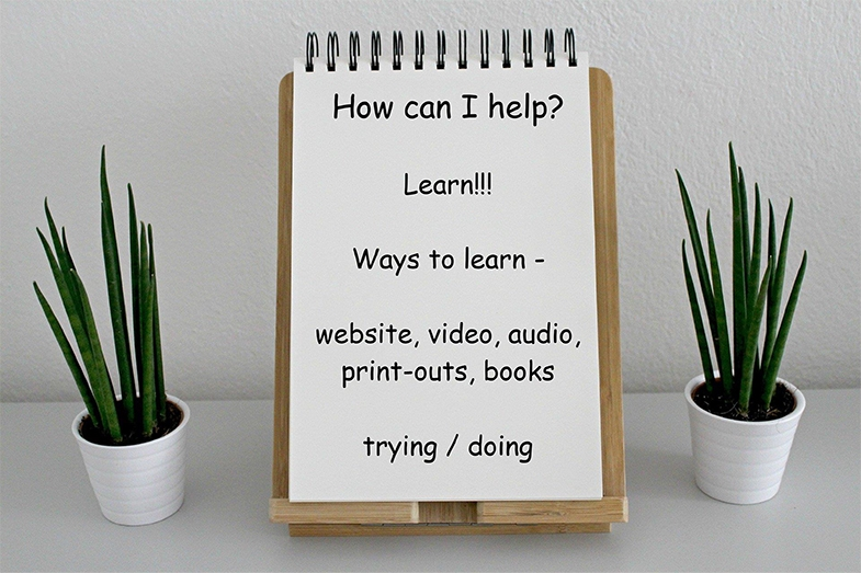 CVI affects how a person can learn, particularly reading and concentrating, but whether you have CVI or not, we all learn in different ways - learn in the way that works best for you.