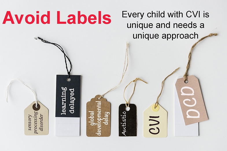 Labels entail groups which entail generic approaches.  Look at the child and the individual causes of their challenges then create an approach specific to the child, not a label.