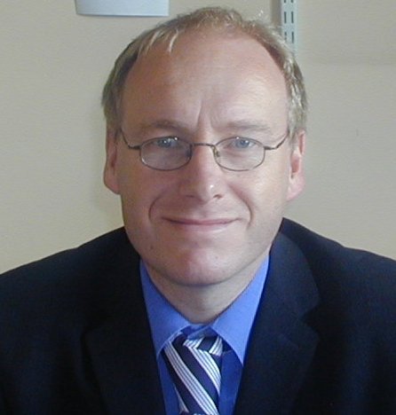 Professor John Ravenscroft, Chair of Childhood Visual Impairment, University of Edinburgh