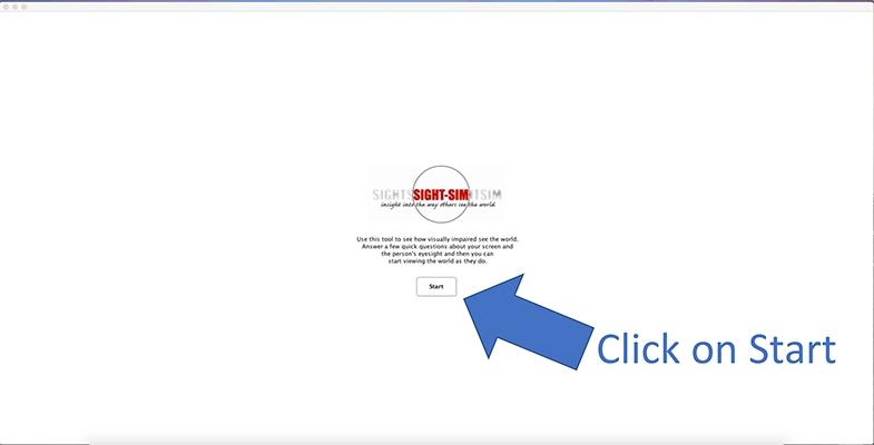 Click on Start