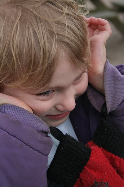 What happens when children with CVI become overwhelmed and why?